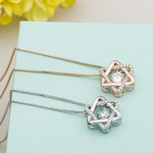 Load image into Gallery viewer, Hexagon Star Necklace