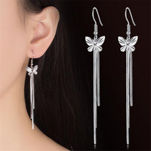 Load image into Gallery viewer, Butterfly Dangle Earrings