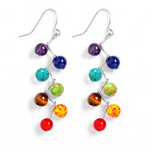 Load image into Gallery viewer, Harlequin Drop Earrings