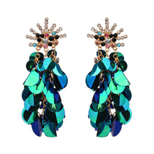 Load image into Gallery viewer, Large Sequin Earrings