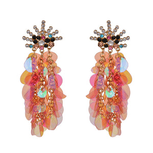 Large Sequin Earrings