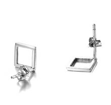Load image into Gallery viewer, Simple Square Earrings