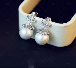 Crystal Orb Earrings