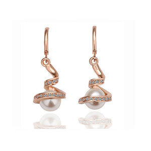 Twisted Snake Pearl Jewellery Set
