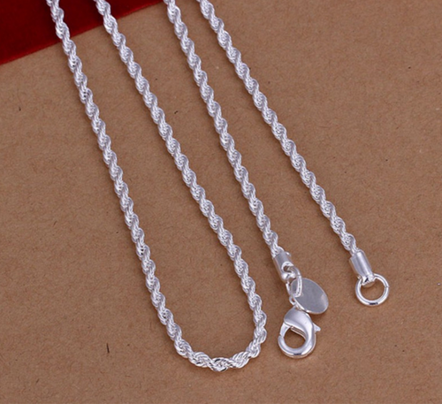 Twist Curly Rope Necklace
