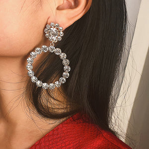 Small Pearl Hoop Earrings