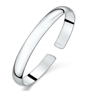 Smooth Open Cuff Bracelet