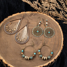 Load image into Gallery viewer, Modern Boho Drop Earrings Sets of 3