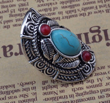 Load image into Gallery viewer, Bohemian Tibetan Style Laurel Ring