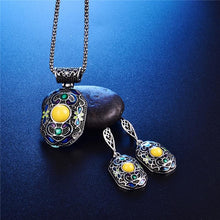 Load image into Gallery viewer, Boho Enamel Multi-Color Pendants