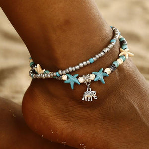 Boho Ethnic Turtle Starfish