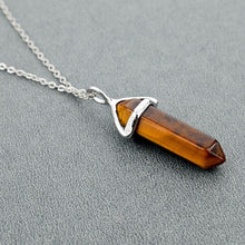 Load image into Gallery viewer, Natural Stone Chakra Necklace