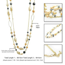 Load image into Gallery viewer, Natural Stone Love Bead Necklaces