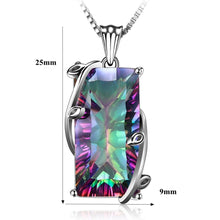 Load image into Gallery viewer, 925 Sterling Silver Rainbow Crystal