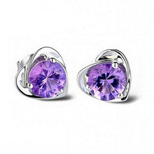 Load image into Gallery viewer, Purple Heart Jewelry Sets
