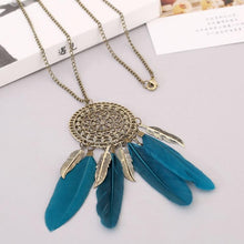 Load image into Gallery viewer, Boho Native American Fringe Necklace