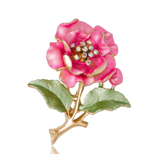 Pretty Rose Brooch