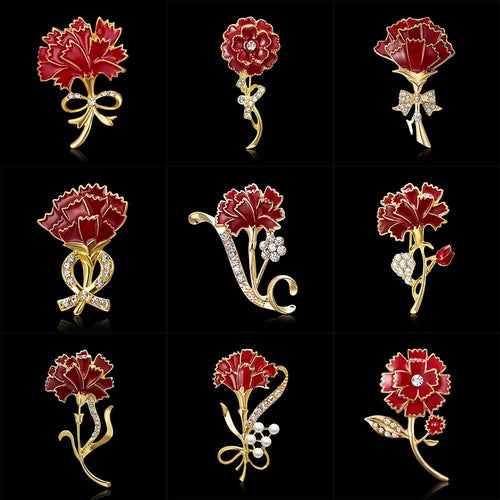 Loving Memories Brooches