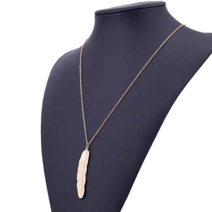 Long Feather Pendant