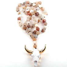 Load image into Gallery viewer, Boho Bovine Rosary Bead