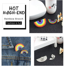 Load image into Gallery viewer, Rainbow Brooch