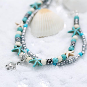 Tropical Beach Anklet