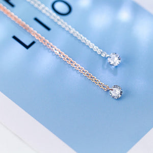 Swiss Crystal Pendant Necklace