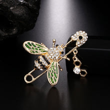 Load image into Gallery viewer, Classic Bee Pin Brooch