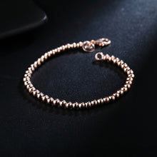 Load image into Gallery viewer, 4mm Beads Chain Bracelet