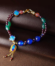 Load image into Gallery viewer, Blue Sea Crystal Charm Bracelets