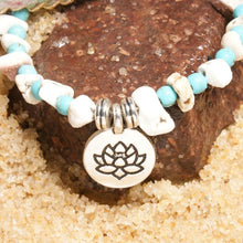 Load image into Gallery viewer, 2 Pcs Set Lotus Anklets