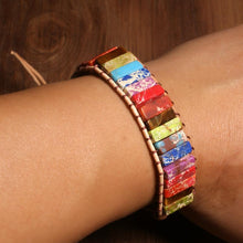 Load image into Gallery viewer, Boho Emperor Stone Bracelet