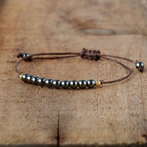 Hematite Friendship Bracelet