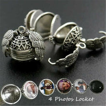 Load image into Gallery viewer, Boho Expanding Angelwings Photo Locket