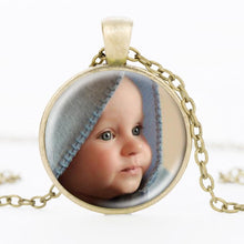 Load image into Gallery viewer, Boho Photo Locket Pendant