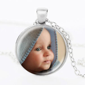 Boho Photo Locket Pendant
