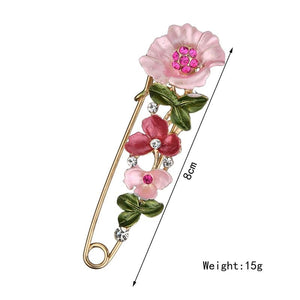 Flower Pin Brooch