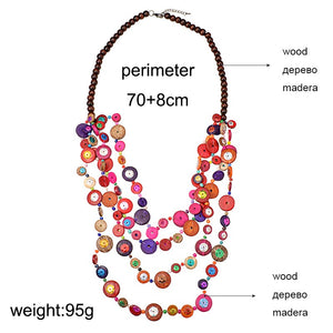 Handmade Bohemian Ethnic necklace