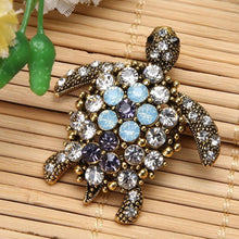 Load image into Gallery viewer, Boho Vibrant Jewel Turtle