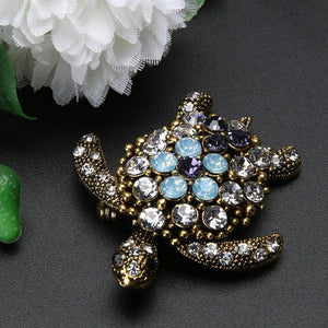 Boho Vibrant Jewel Turtle
