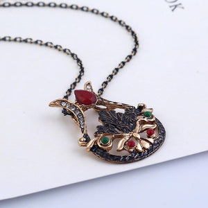 Boho Turkish Style Jewel Crest
