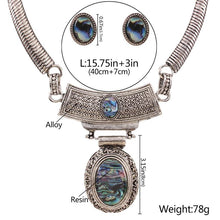 Load image into Gallery viewer, Boho Large Jewelled Pendant