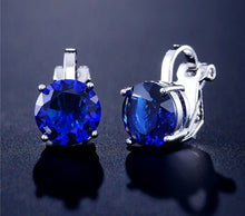 Load image into Gallery viewer, Clip On Austrian Crystal Earrings