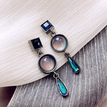 Load image into Gallery viewer, Blue Stone Earrings