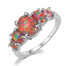 Load image into Gallery viewer, Oval Stone Fire Opals