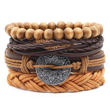 Load image into Gallery viewer, Four Piece Boho Bracelet Sets