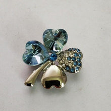 Load image into Gallery viewer, Lucky Four Leaf Clover Brooch