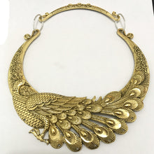 Load image into Gallery viewer, Retro Carved Peacock Choker