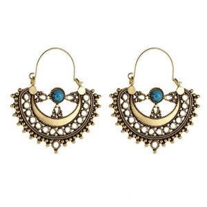 Gypsy Style Love Earrings