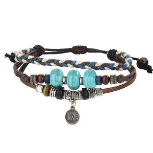 Leather Layers Bracelets
